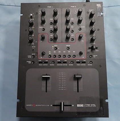 rane ttm 57sl 2 channel dj mixer sam ash music indianapolis reverb. Black Bedroom Furniture Sets. Home Design Ideas