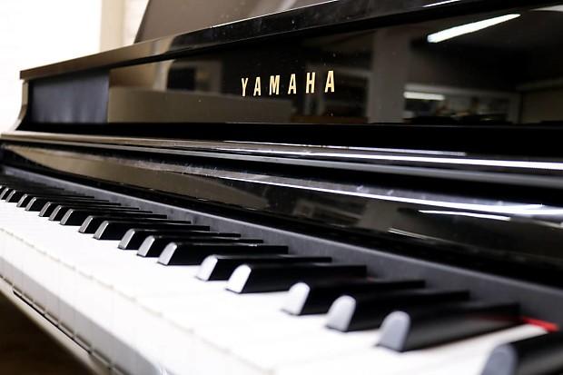 Used yamaha clavinova clp 465gp digital piano polished for Yamaha clavinova cvp 87a for sale