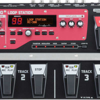 Boss RC-300 Loop Station image