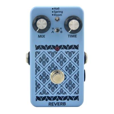 Reverb effect Electric Guitar Pedal   True Bypass