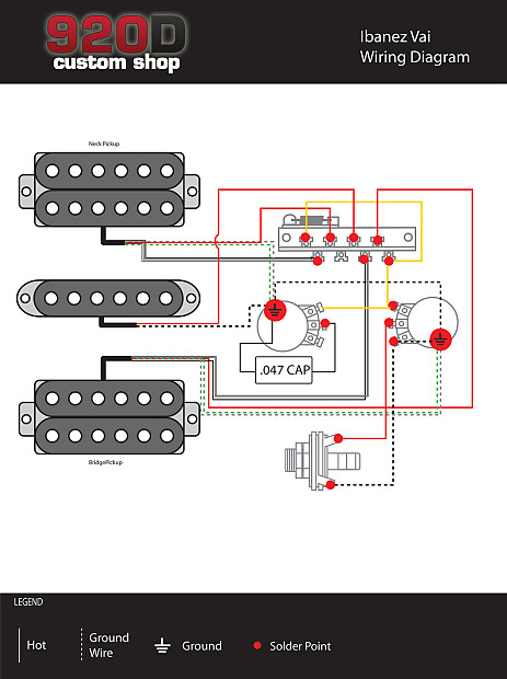 Steve Vai Jem Wiring Diagram - Wiring Diagram