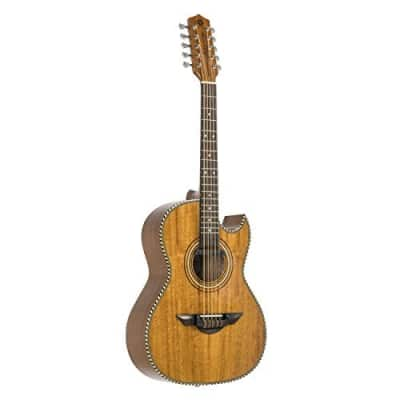 H Jimenez Bajo Quinto LBQ1ENM Natural Mahogany Acoustic Electric for sale