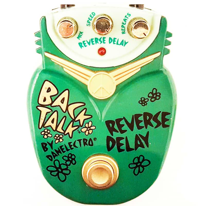 danelectro back talk reverse delay echo guitar effects pedal reverb. Black Bedroom Furniture Sets. Home Design Ideas