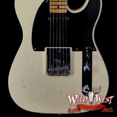 Fender Custom Shop Yuriy Shishkov Masterbuilt 50's Telecaster Josefina Hand-Wound Pickups Closet Classic Vintage White for sale