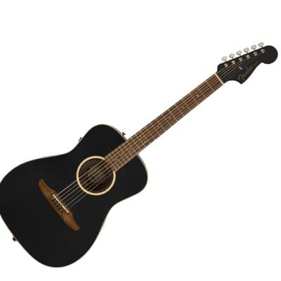 Fender Malibu Special - Matte Black w/ Pau Ferro Fingerboard - Used