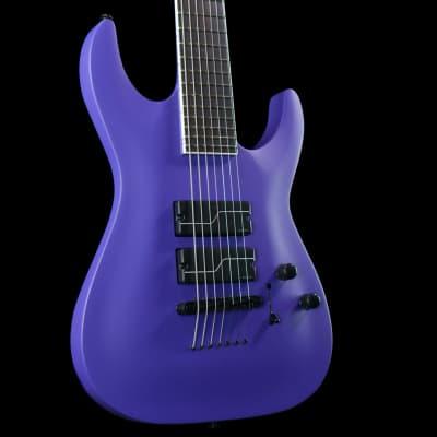 ESP LTD SC-607B Stephen Carpenter Signature 7-String Baritone (Purple Satin) for sale