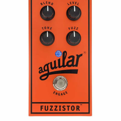 Aguilar Fuzzistor Bass Fuzz Pedal *NEW-IN-BOX*