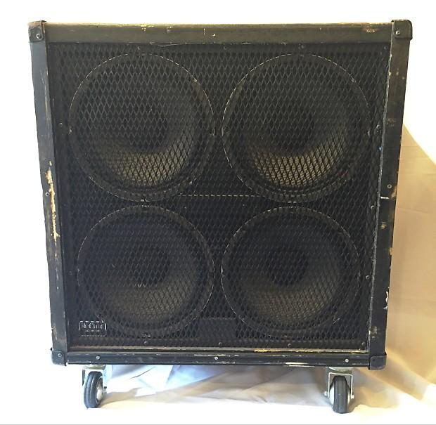 Peavey Straight 412 Guitar Speaker Cabinet w/ Sheffield | Reverb