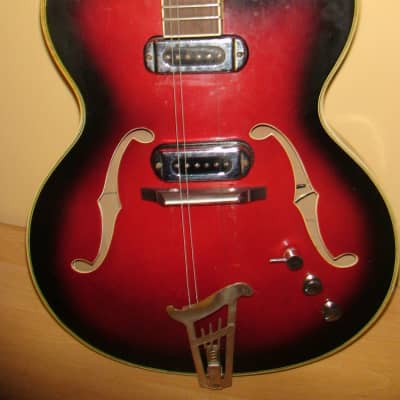 1960's Musima 1655 Electric Guitar Vintage and Rare for sale