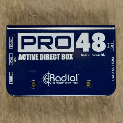Radial Pro48 Active DI Used