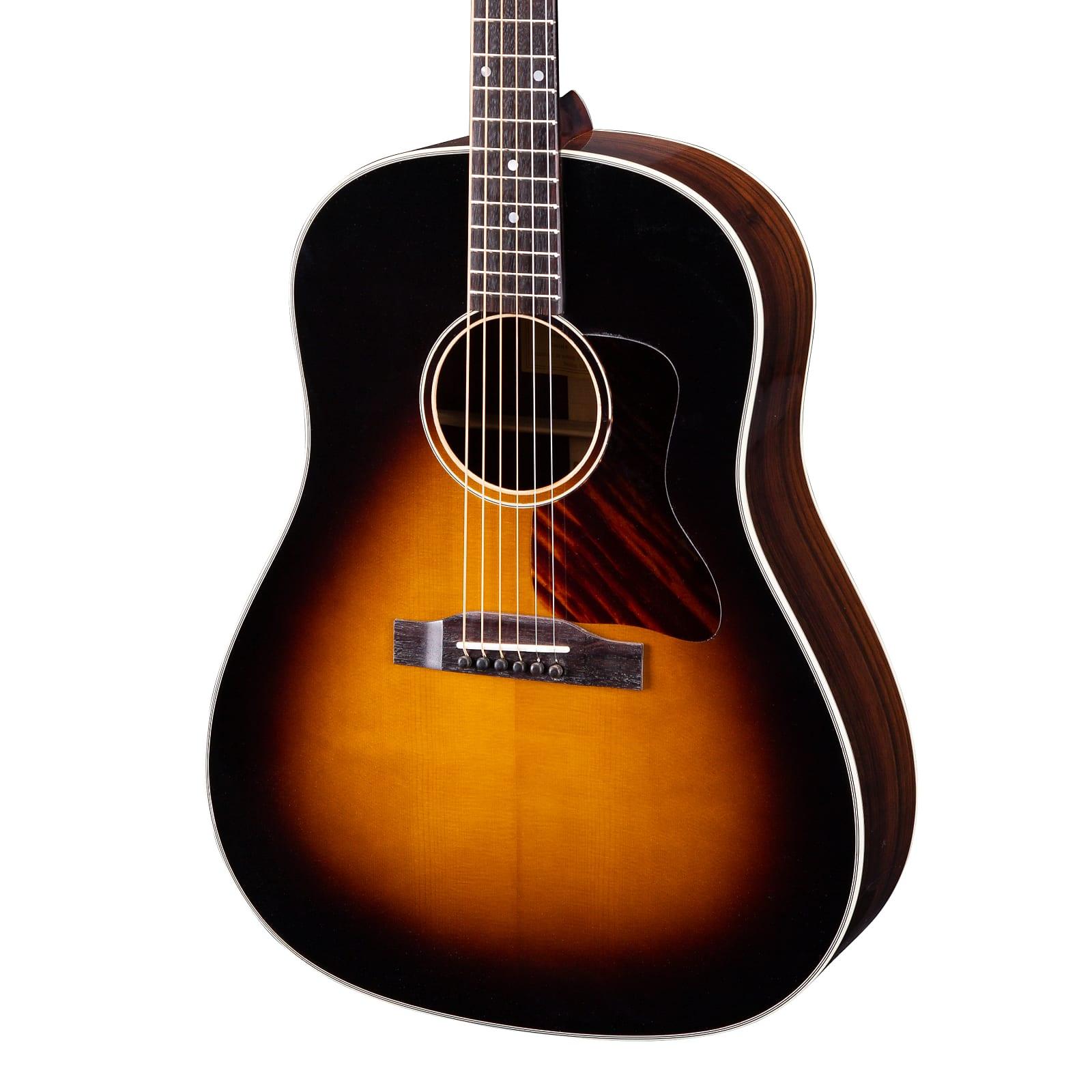 Eastman E20SS Slope Shoulder Dreadnought Acoustic Guitar Sunburst w/ Hard Case