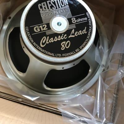 """Celestion G12-80 Classic Lead 12"""" 80-Watt 8 Ohm Speaker"""