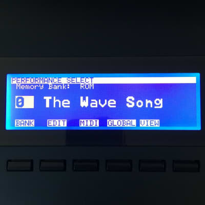 LED Display Upgrade - Korg Wavestation - Wavestation EX - Wavestation A/D LED Graphic Display !