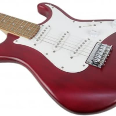 Cort G100OPBC G Series G100 Double Cutaway Hard Maple Neck 6-String Electric Guitar-OP Black Cherry for sale