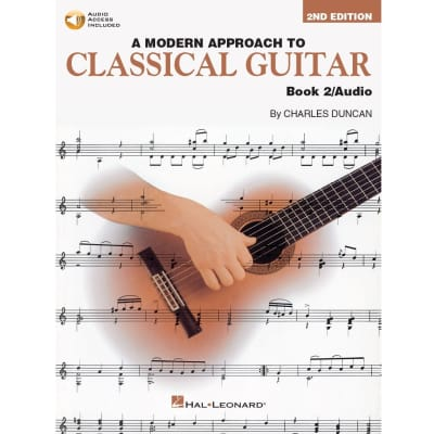 A Modern Approach to Classical Guitar - Book 2 (2nd Edition) (w/ Audio Access)