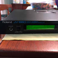 """Roland JV-880 with """"Rich Sound Collection 4"""" data card"""