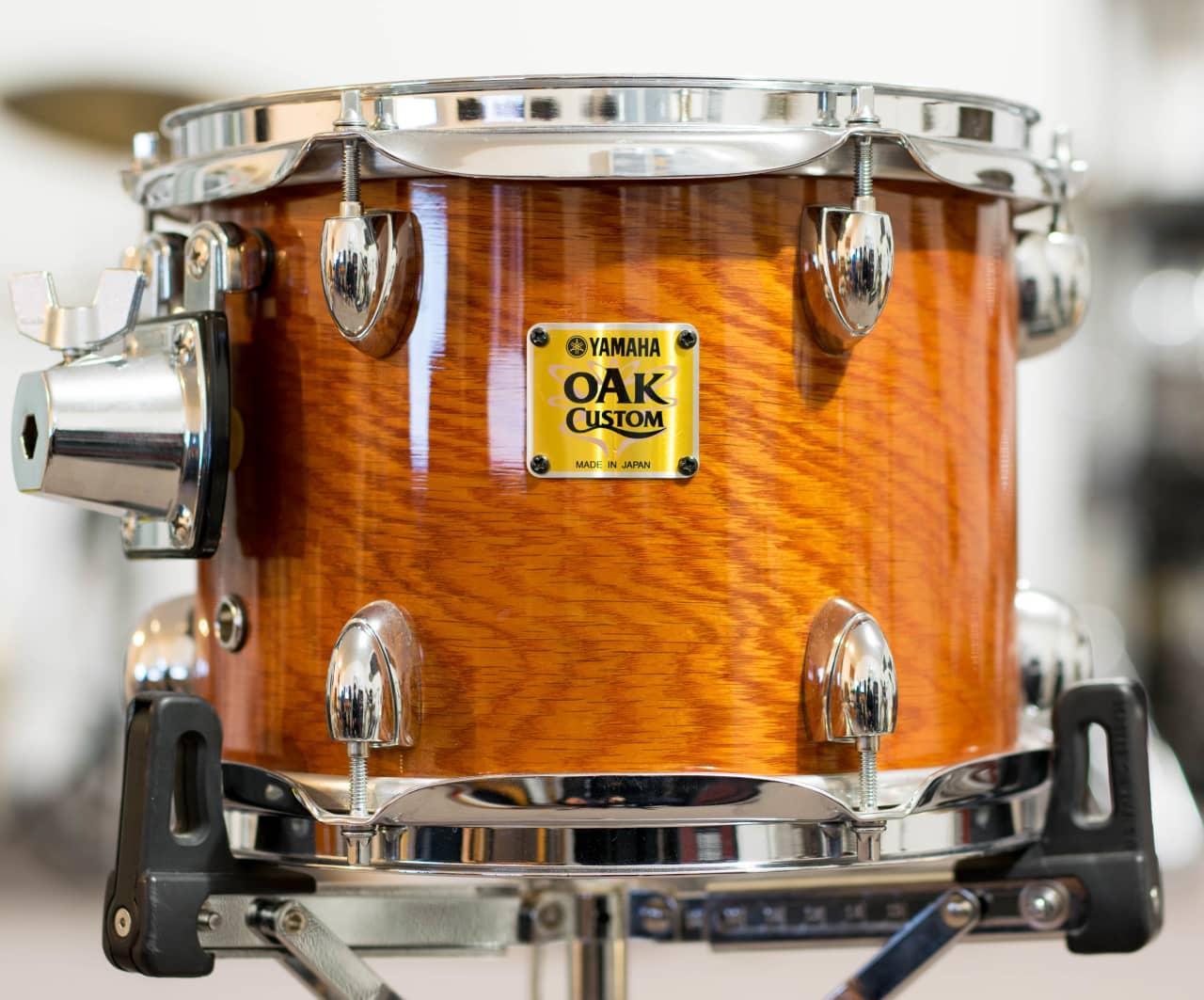 yamaha oak custom york honey amber tom 10x8 reverb. Black Bedroom Furniture Sets. Home Design Ideas