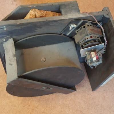 Leslie 10L-2S Complete Tremolo Rotating Speaker Unit Jensen 1963 Black for sale