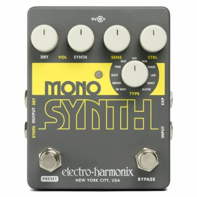 Electro Harmonix Mono Synth Effects Pedal for sale
