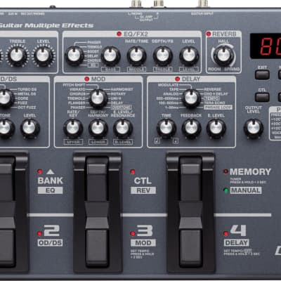 Boss ME-80 Guitar Multi Effects Floor Processor Stompbox Battery Powered - Store Display Demo Unit