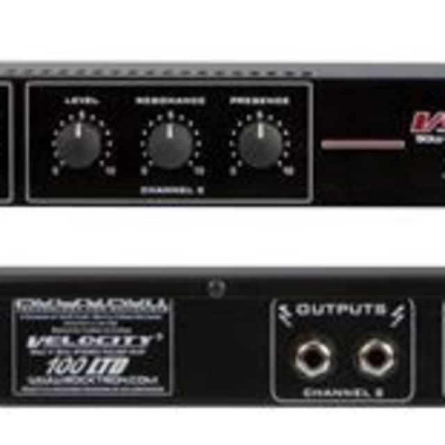 Rocktron Velocity 100 LTD Rack Guitar Power Amplifier image