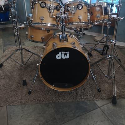 DW Collector's Series Drum Set 1994 wood