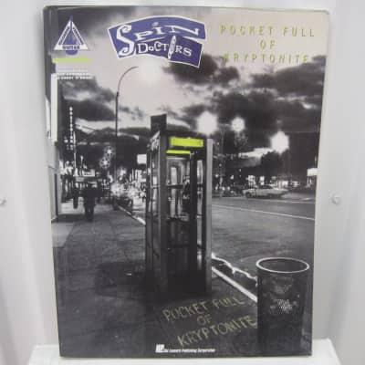 Spin Doctors Pocket Full of Kryptonite Sheet Music Song Book Songbook Guitar Tab Tablature