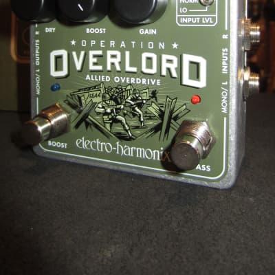 Electo-Harmonix Operation Overlord Overdrive