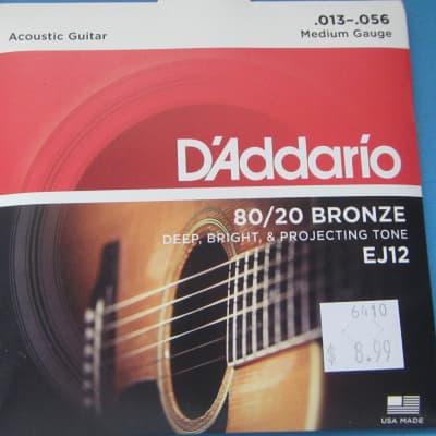 D'Addario XT Acoustic 80-20 Bronze