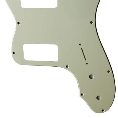 For Fender 3-Ply '72 Telecaster Thinline TV  Jones  Guitar Pickguard Scratch Plate, Mint Green