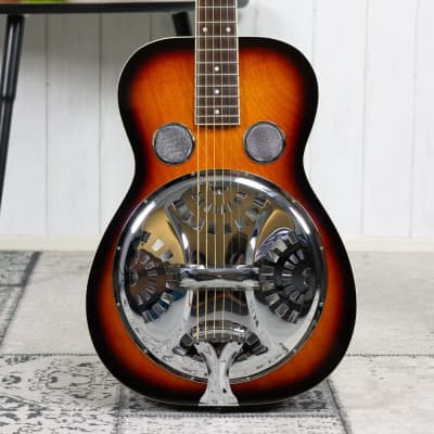 Gold Tone Paul Beard Signature-Series Roundneck Resonator Guitar with Case for sale