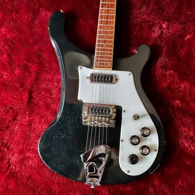"c.1975 Rickenbacker 480 Jetglo Vintage Guitar ""Black"" for sale"