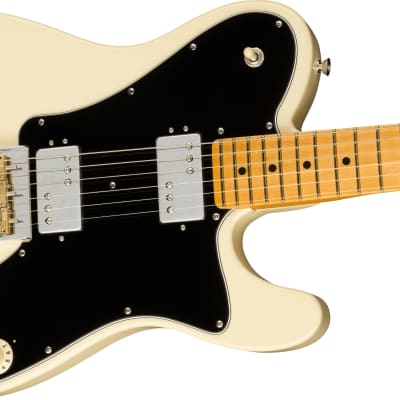 PRESALE! Fender American Professional II Telecaster Deluxe, Maple Fb, Olympic White