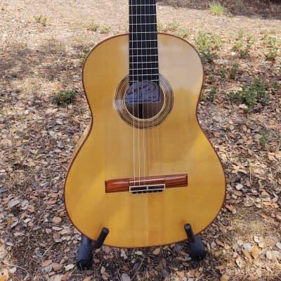 Dario Garcia Flamenco Guitar 2020 - Blanca Spruce/Maple for sale