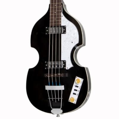 Hofner Ignition PRO Violin Bass - Transparent Black