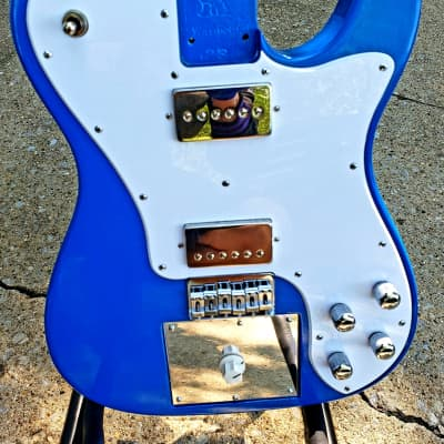 Warmoth Tele style body, bare knuckle pickups, distortion built in, custom Loaded Body USA MADE for sale
