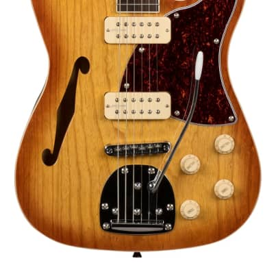 Revelation RFT DLX Electric Thinline Guitar in Honey burst for sale