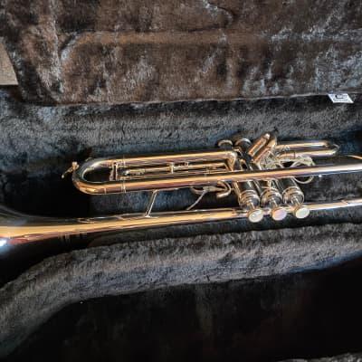 Getzen 907S Eterna Proteus Trumpet Nickel Silver-Plated