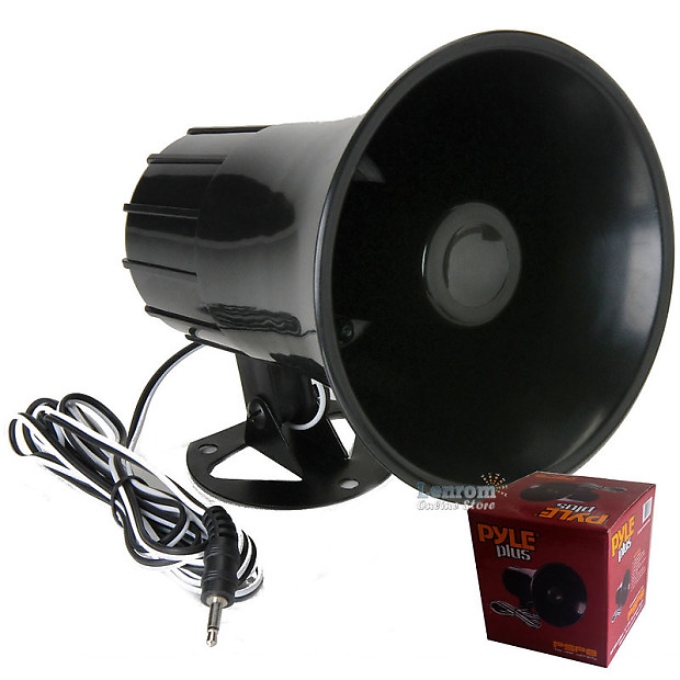 NEW Pyle PSP8 All Weather 5/'/' PA Mono Extension Horn Speaker