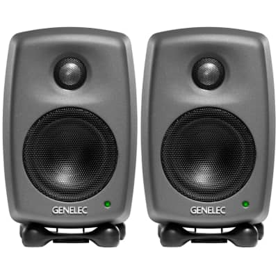 "Genelec 8010A 3"" Powered Nearfield Studio Monitor (Pair)"