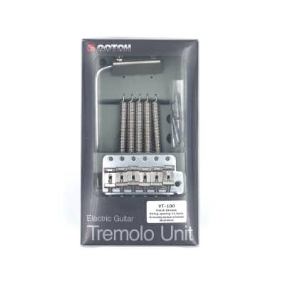 Gotoh VT-100 6-hole Tremolo Bridge - Brand New! - Authorized Dealer!