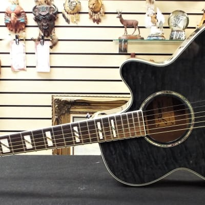 Jasmine by Takamine ES450C-STCQ Acoustic Electric in Gunmetal Grey for sale