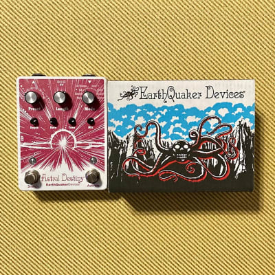 EarthQuaker Devices Astral Destiny Octal Octave Reverberation Odyssey with Original Box and Candy