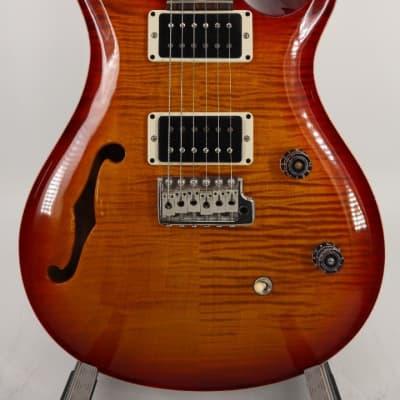 Paul Reed Smith PRS CE24 Semi Hollow Body Dark Cherry Sunburst w/Gigbag #0296407 for sale