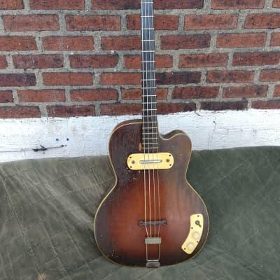 Kay 162 Bass 50s Sunburst for sale