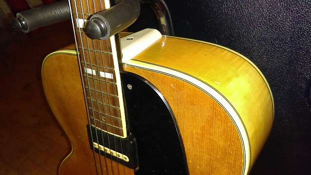 vintage 1953 oahu archtop electric guitar hardcase reverb. Black Bedroom Furniture Sets. Home Design Ideas