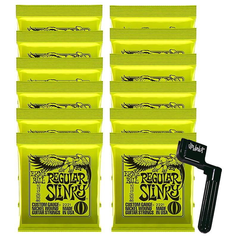 ernie ball 2221 regular slinky string bundle 10 46 reverb. Black Bedroom Furniture Sets. Home Design Ideas