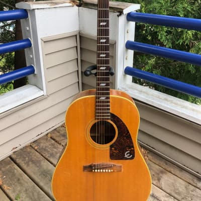 Epiphone FT-79 Texan 1965 Natural-Not Your Grandson's Epiphone-And That's A Good Thing!