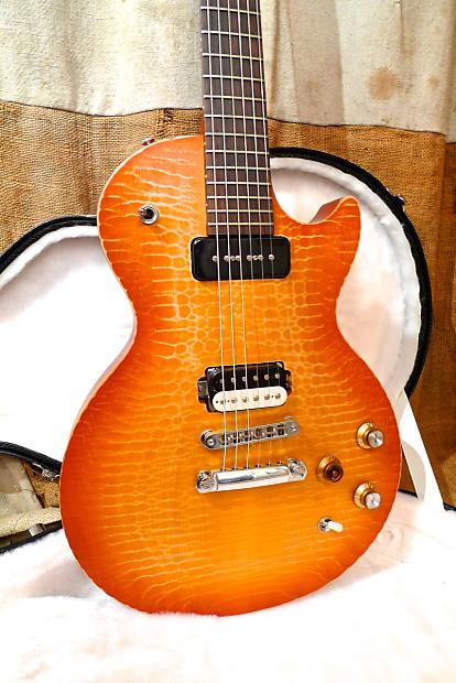 Gibson les paul gary moore bfg 2011 sunburst reverb - Gibson gary moore ...