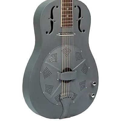 Gold Tone GRE Paul Beard Signature Series Metal Body 6-String Resonator Guitar with Pickup